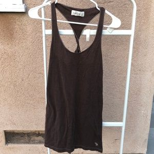 Abercrombie & Fitch Brown Tank Top